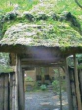 茶室の入り口